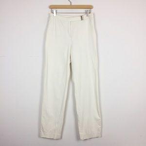 Vintage mom pants white cream straight leg